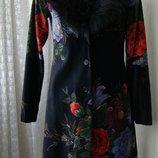 Пальто нарядное демисезонное H&M р.42 7334