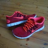 Кроссовки Nike Free 5.0 Neon оригинал 41 размер