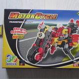 Конструктор игровой 3D-мотоцикл.