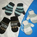 рукавички 1-2 годика