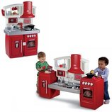 Интерактивная детская кухня красная Little Tikes 626012