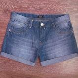 Стильные мужские джинсовые шорты F&F