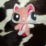 шикарная мягкая игрушка Кошечка Littlest Pet Shop Hasbro Сша оригинал