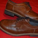 мужской новый кожаный туфель от бренда класса люкс Fretz men