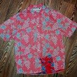 Оригинальная фирменная рубашка изнанка Maine New England