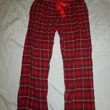 штанишки байковые домашние с боковыми внутренними карманами р14-16