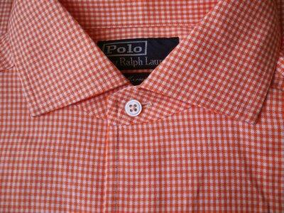 Мужская рубашка в мелкую клетку сочная Polo by Ralph Lauren M L