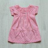 Нежное платье для маленькой принцессы. Polarn O.Pyret. Размер 4-6 месяцев. Состояние новой вещи