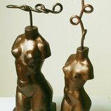 Цена снижена Стильный подарок - Статуэтка для украшений - керамика
