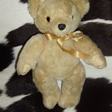 роскошный винтажный мишка медведь из Англии солома мохер 31 см