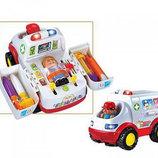Машина Скорая помощь с Набором Доктора. 836