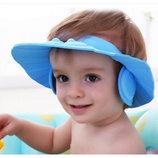Шапочка для купания и стрижки ребенка с ушками от 0 до 6 лет