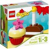 Lego Duplo Мои первые пирожные My First Birthday Cake 10850