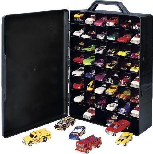 Hot Wheels Toy Car Holder Case : Hot wheels Кейс Чемодан для хранения машинок molded