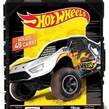 Hot Wheels Кейс-Чемодан для хранения 48 машинок Molded 48 Car Case