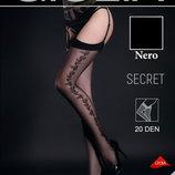 Тонкие прозрачные чулки под пояс без силикона / Эротическое белье / Сексуальное белье