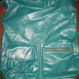 Зелёная очень вместительная сумка Atmosphere
