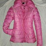 Курточка розовая размер 10-12