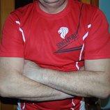 Спортивная оригинал фирменная футболка Marlettin Зб Сінгапура .