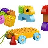 LEGO DUPLO Веселая каталка с кубиками Toddler Build and Pull Along 10554