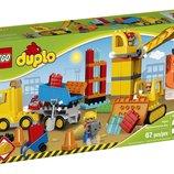 LEGO DUPLO Городок Большая стройплощадка Town 10813 Big Construction Site Building Kit