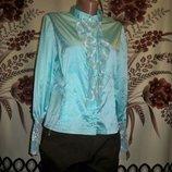 Крутезна блузка-жабо, 14, Hand made.