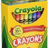 Crayola Восковые карандаши 24 цвета Crayons 24 Count