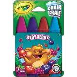 Crayola Цветные мелки ягодные 4 цвета Build Your Box Very Berry Chalk 4 Count