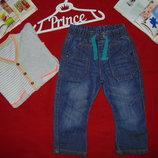 Моднячие джинсы Nutmeg 18-24мес 86-92см Мега выбор обуви и одежды