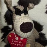 большая мягкая игрушка Собака Буфи Boofle Англия оригинал 42 см