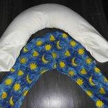 Подушка для беременных подушка-позиционер для кормления ребенка для мам банан рогалик С-Форма
