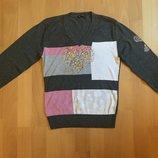 Как новая нарядная кофта свитерок, реглан на размер S, Турция
