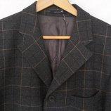 пиджак Pierre Laffitte удлиненный на подкладке, серый, шерсть, М-L