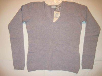 Новый женский свитер 100% натуральная шерсть р.46 L голубой меланж Tatuum татуум теплый зимний