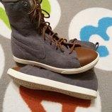 Крутые высокие новые кеды от Nike, размер 36,5