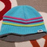 Крутая шапка на флисе от Trespass на 1,5-2 года