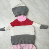 Одежда для Baby Born Беби Борн, Беби Дол в ассортименте вязанная