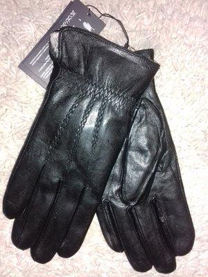 Распродажа Мужские кожаные перчатки на кролике