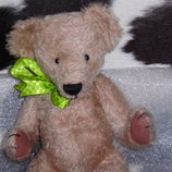 суперский шарнирный Мишка Медведь ручная работа мохер из Англии 37 см
