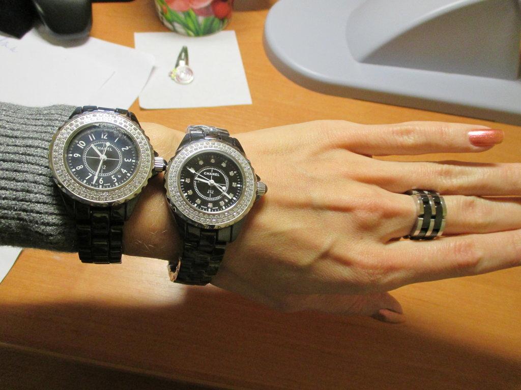 Часы Chanel, купить часы Шанель оригинал на металлическом