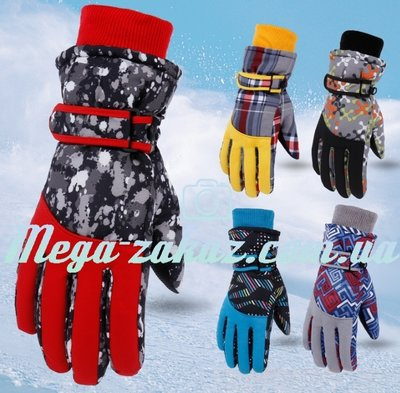 Перчатки горнолыжные женские Burn перчатки лыжные 6 цветов