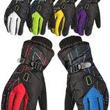 Мужские горнолыжные перчатки Kineed перчатки лыжные 6 цветов, размер M-L/L-XL