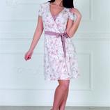 Элегантный комплект сорочка халат, s-xxl,ТМ Роксана 341
