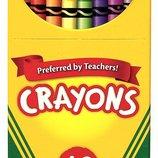 Crayola Цветные восковые карандаши 48 цветов Crayons Box 48-count