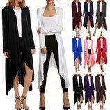 стильный женский длинный кардиган кофта свитер