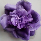 Цветок заколка-резинка-брошь