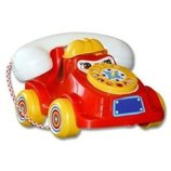Каталка Телефон средний 5106