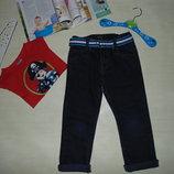 Модные джинсы M&S 5-6л 110-116см Мега выбор обуви и одежды