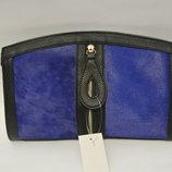 3-143 Женская сумка/ сумка-клатч из Меха Пони/ PU кожа