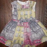 Красивое платье на 5 лет от TU